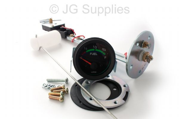 12v Fuel Gauge & Sender Level Kit 52mm